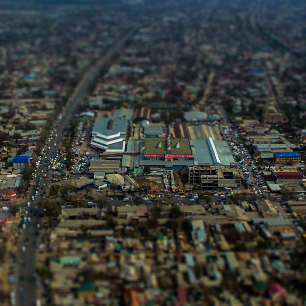 Аламединский рынок в Бишкеке