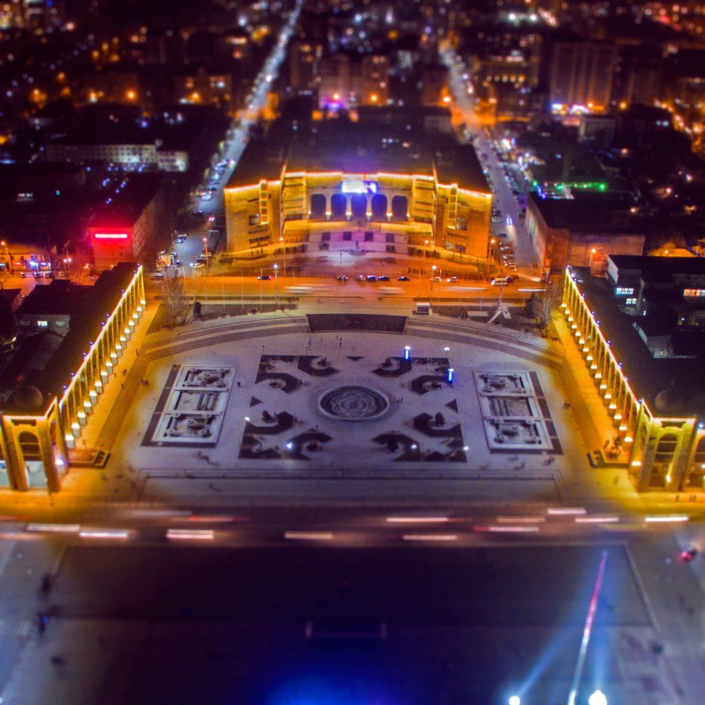 Площадь Ала-Тоо в Бишкеке