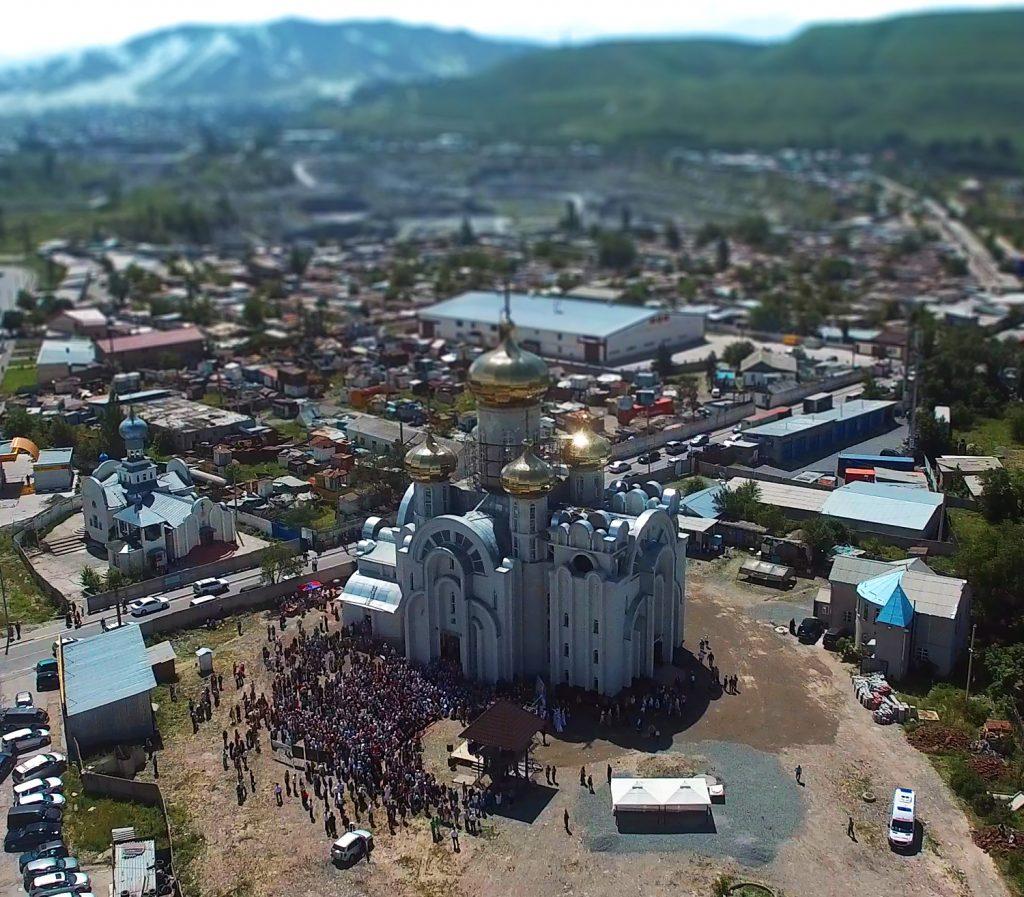 Церковь в Асанбае