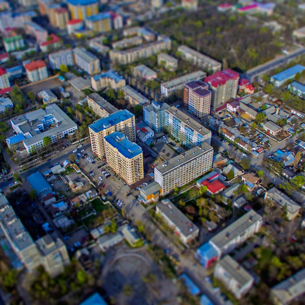 Дома в центре Бишкека