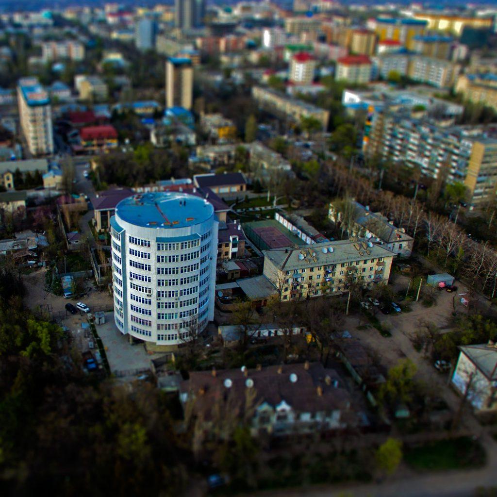 Круглый дом в Бишкеке