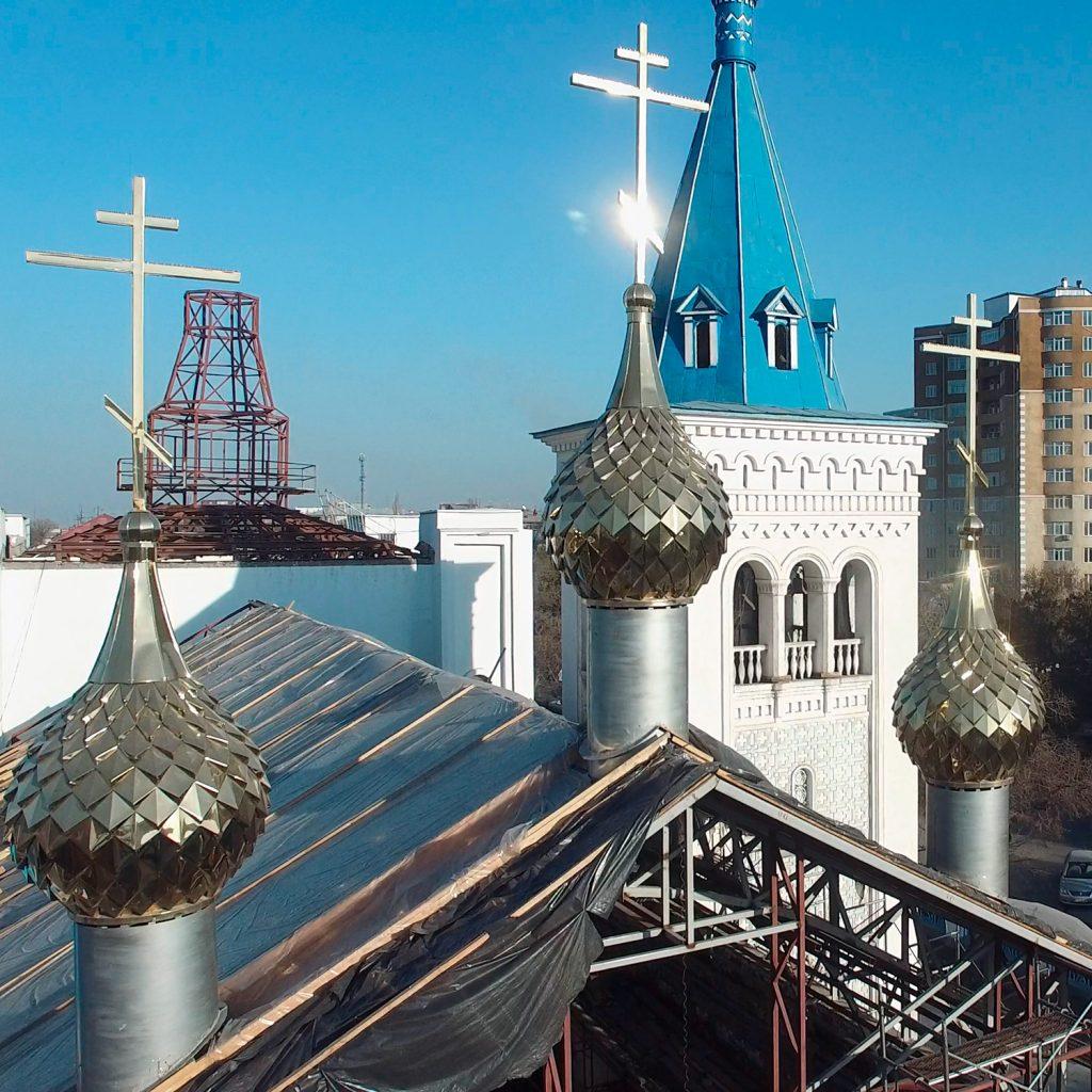 Церковь в Бишкеке